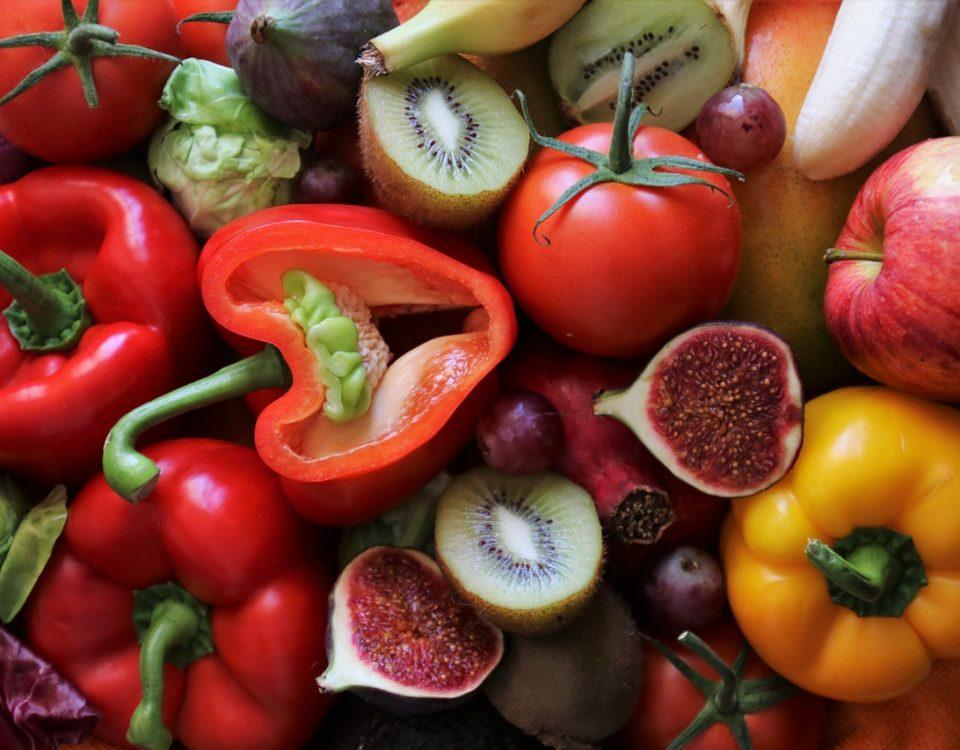 Kolory warzyw i owoców